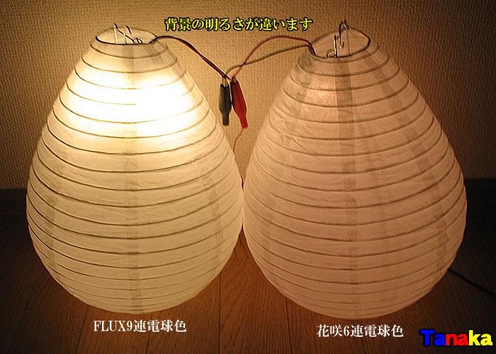 画像2: 【明るさ・色合い確認用】提灯LED化 夏祭り用